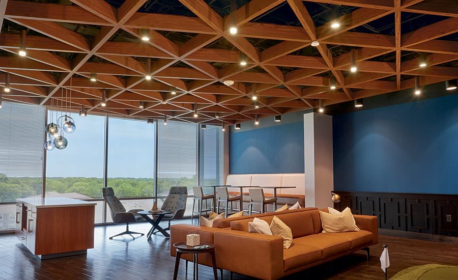 Upscale Linear Ceiling A Show Stopper