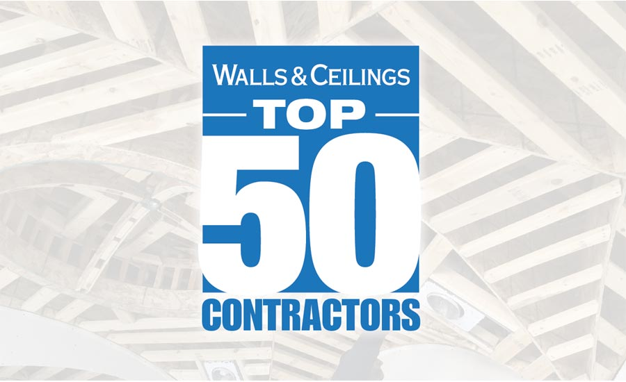 Walls & Ceilings 2019 Top 50 Contractors