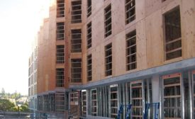 exterior wood sheathing