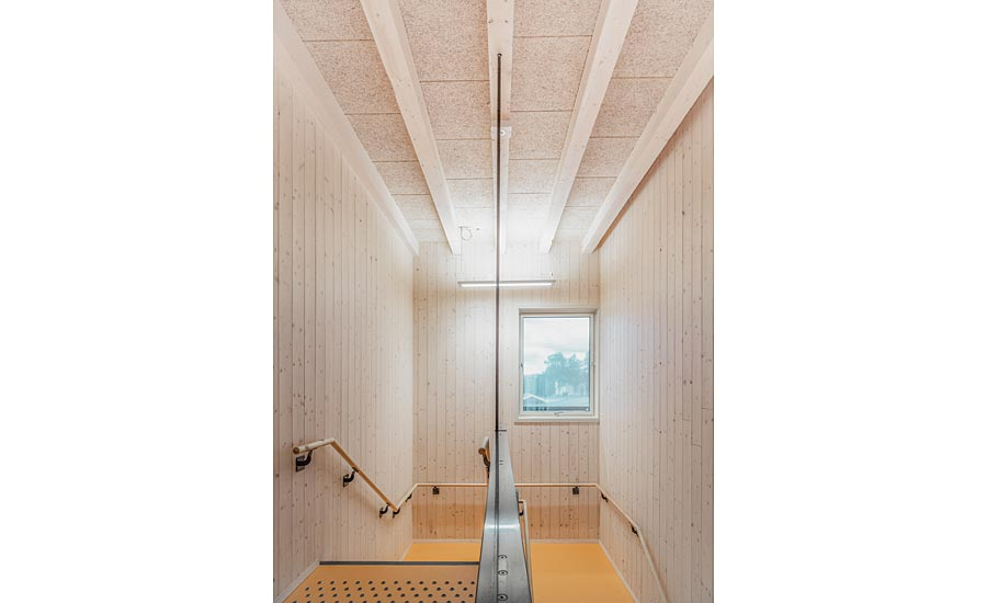 Wood Fiber Acoustic Ceiling