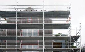 Fiberglass lath application