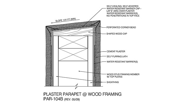 Solutions For The Stucco Parapet 2013 02 01 Walls