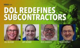 DOL Redefines Subcontractors